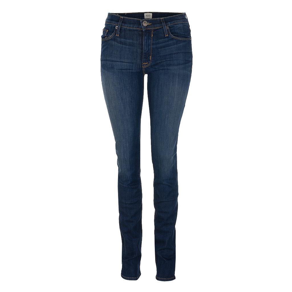 Hosen - Hudson Jeans TILDA Midrise Straight blau  - Onlineshop Luxury Loft