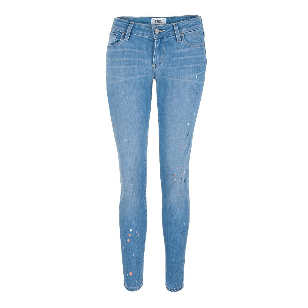 Hosen für Frauen - Paige 7 8 Jeans VERDUGO Ultra Skinny ADDISON blau  - Onlineshop Luxury Loft