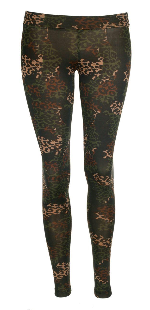 Rock & Republic Damen Leggings Leo Gr. S