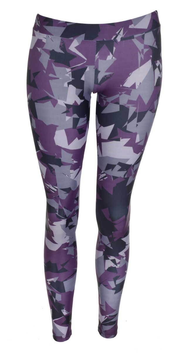 Rock & Republic Damen Leggings lila Gr. S