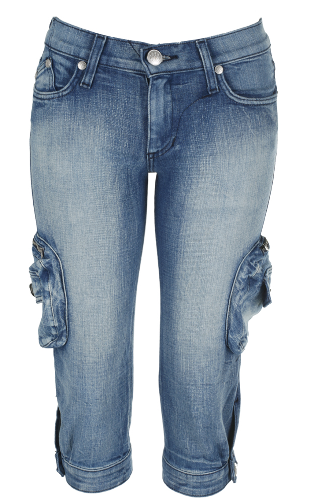 Hosen - Rock Republic Damen Caprijeans blau  - Onlineshop Luxury Loft