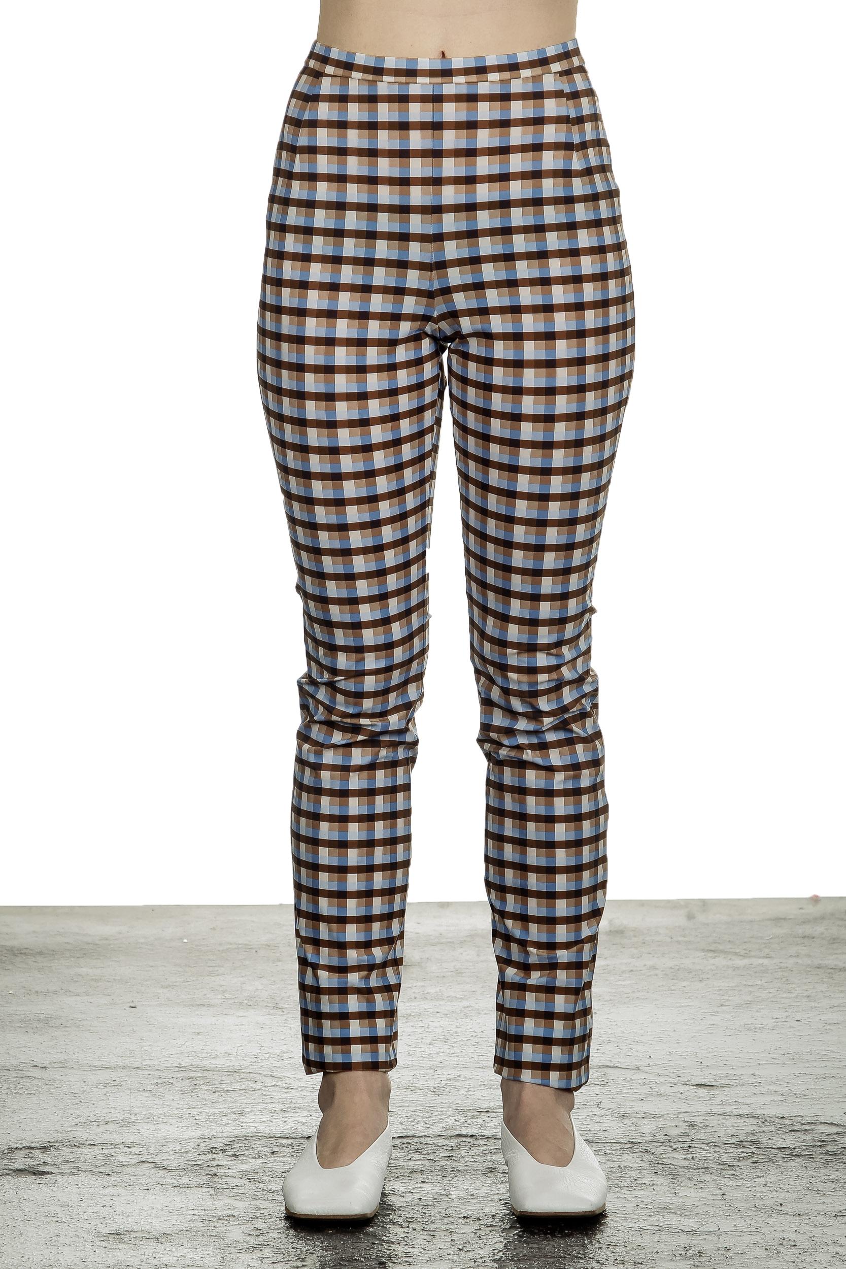 Hosen - Schella Kann 2 Damen Hose mit Print mehrfarbig  - Onlineshop Luxury Loft
