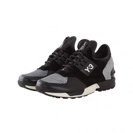 Y-3 Sneakers ZX ZIP schwarz weiß