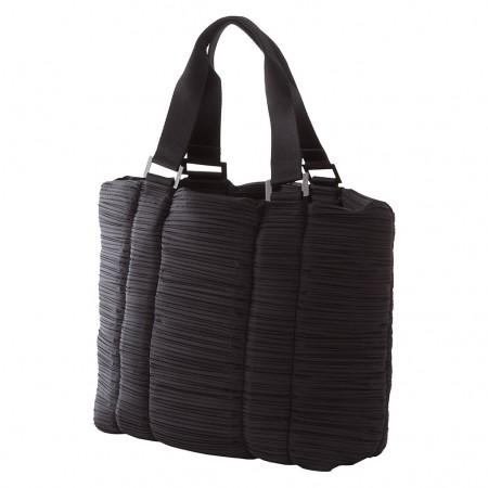 ISSEY MIYAKE PLEATS PLEASE Handtasche schwarz