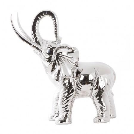 Cor Mulder Elefant chrom silber
