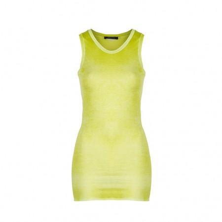 AVANT TOI Damen Baumwoll Top gelb