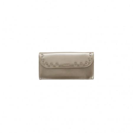 Furla Lackleder Brieftasche gold