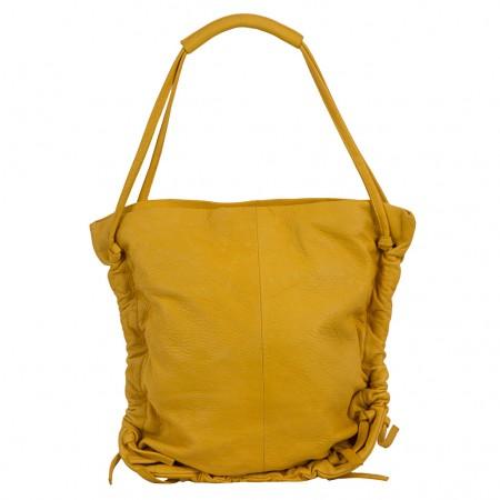 LUPO Damen Ledertasche gelb (2. Wahl)