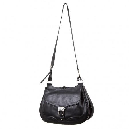 Braun Büffel Damen Handtasche schwarz