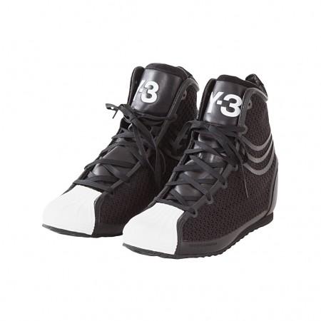 Y-3 Damen Sneaker NICKE schwarz