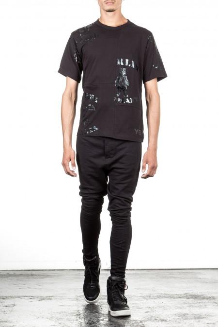 Y-3 Herren T-Shirt FABRICMIX schwarz