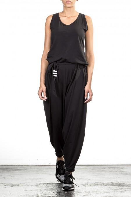 Y-3 Damen Jumpsuit schwarz