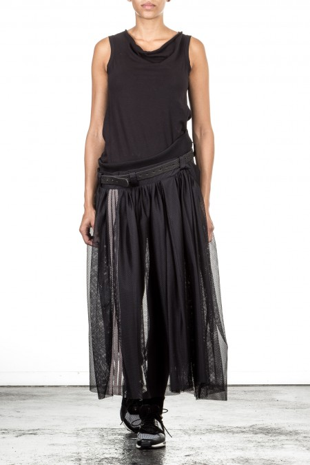 Y-3 Rock TULLE SKIRT  schwarz