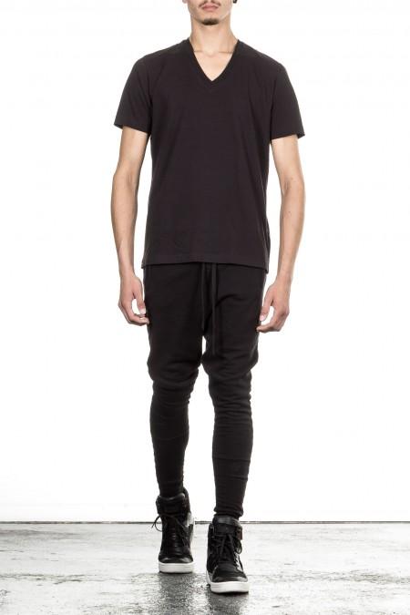 Y-3 V-Neck Shirt black