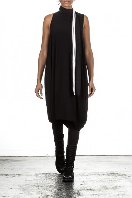 Y-3 Sommerkleid SUMMER TRACK DRESS schwarz