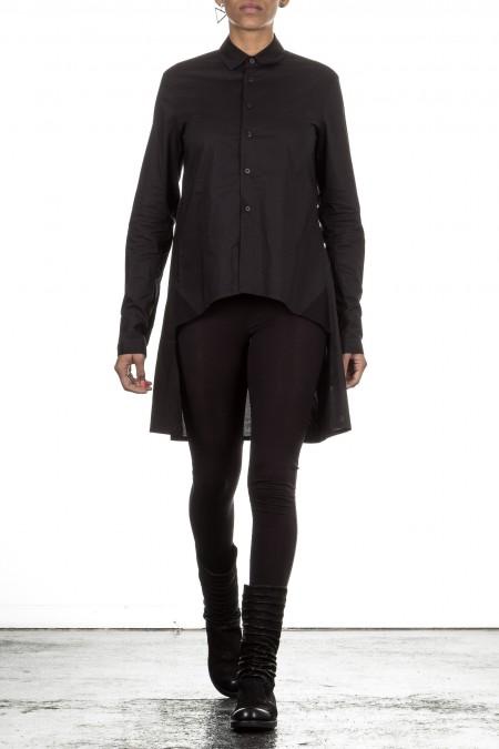 Y-3 Damen Avantgarde Bluse A-Form schwarz