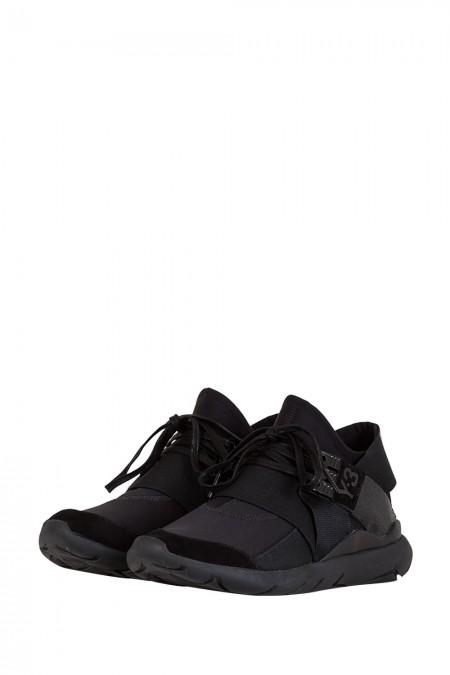 Y-3 Sneaker QASA ELLE LACE schwarz
