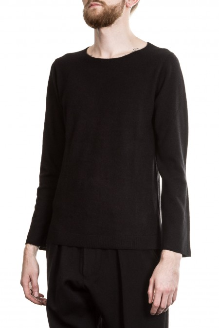 Yohji Yamamoto Herren Cashmere Pullover schwarz