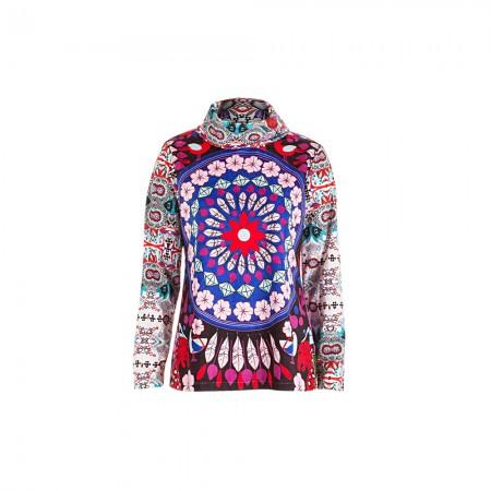 Custo Barcelona Damen Sweatshirt multicolour Gr.38