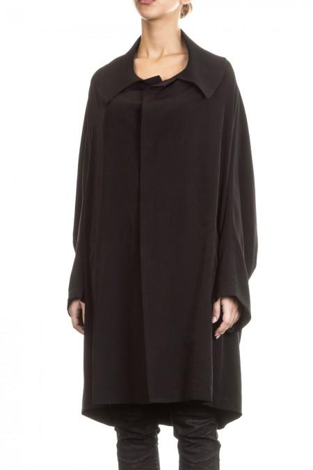 Y´s Yohji Yamamoto Damen Mantel Avantgarde Oversized schwarz Gr. 2