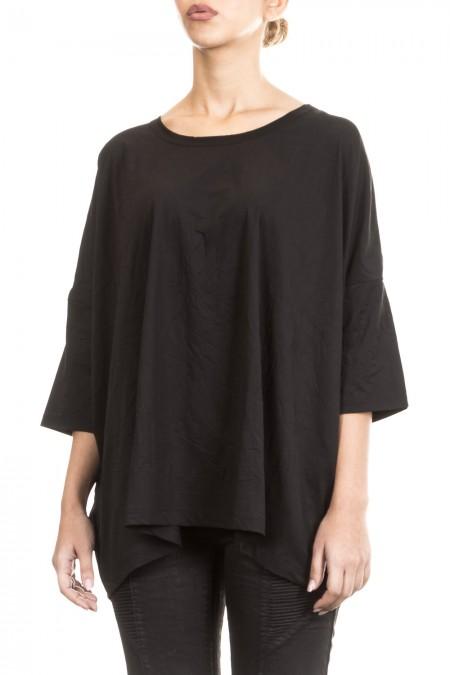 Y´s Yohji Yamamoto Damen Avantgarde Shirt Oversized schwarz Gr. 2