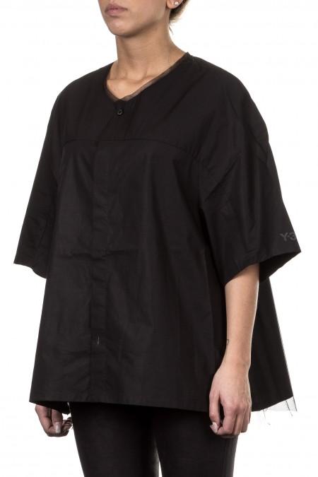 Y-3 Damen Avantgarde Bluse  schwarz