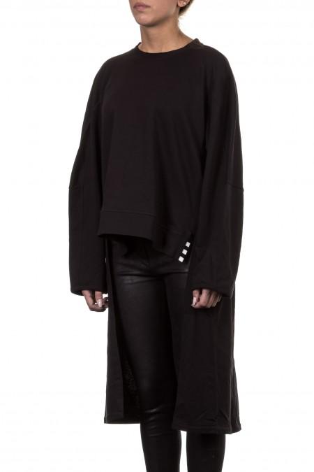 Y-3 Damen Longshirt DANCER schwarz