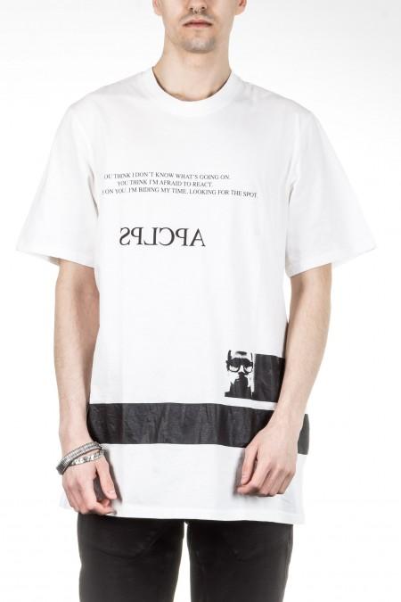 Julius Herren Oversized T-Shirt APCLPS weiß