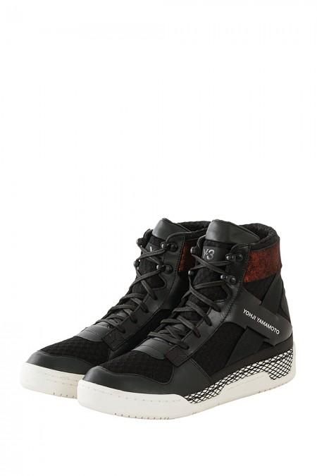 Y-3 Sneakers HELD II schwarz weiß