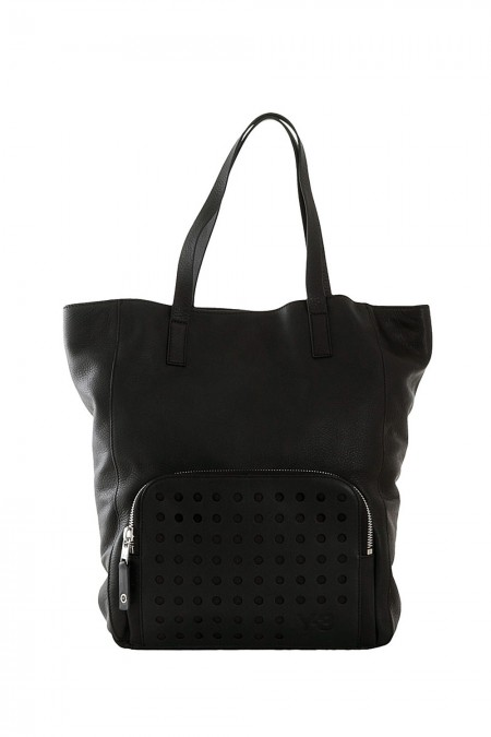 Y-3 Day Shopper TOILE TOTE schwarz