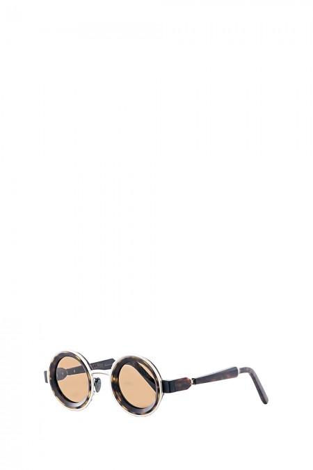Kuboraum Sonnenbrille MASK Z3 braun silber