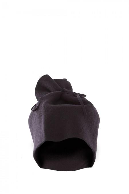 SCHA Damen Schal Mütze NECK schwarz