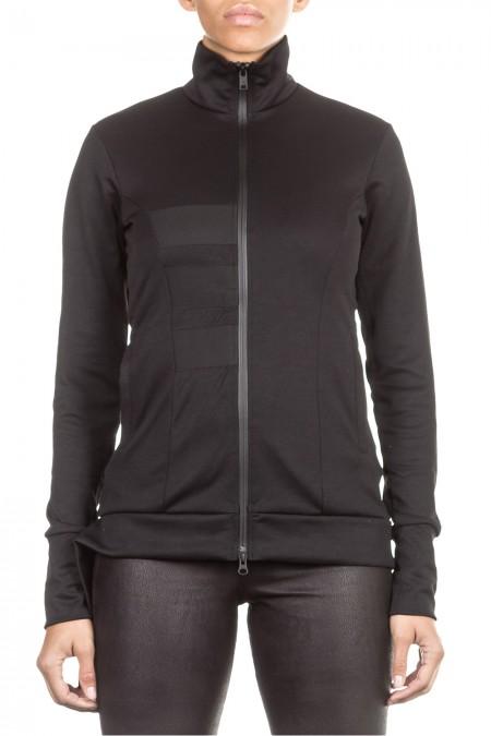 Y-3 Damen Sweat Jacke 3S TRACK schwarz