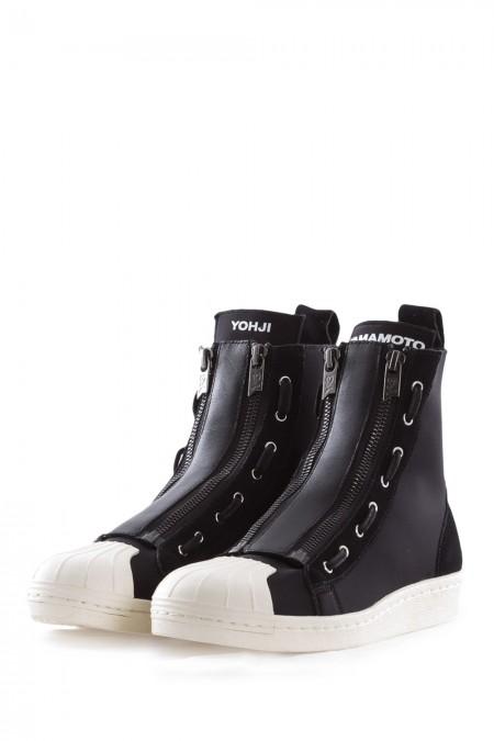 Y-3 Damen Sneaker PRO ZIP schwarz