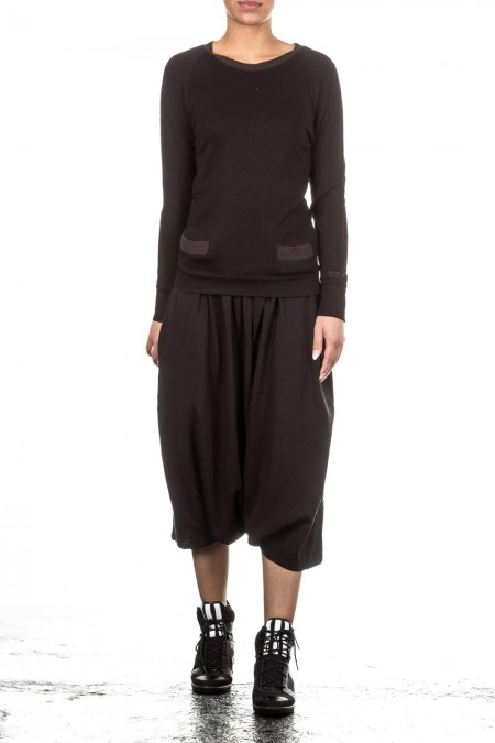 Y-3 Damen Sarouelhose schwarz