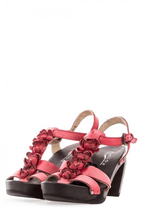 SOFTCLOX Damen Sandalen rot