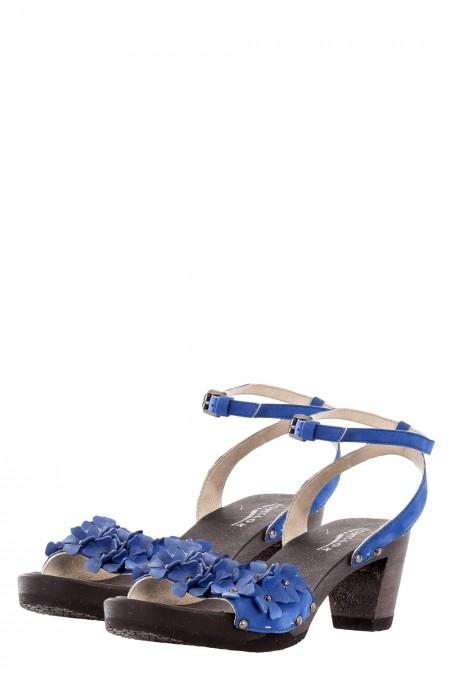 SOFTCLOX Damen Sandalettenn MALI blau