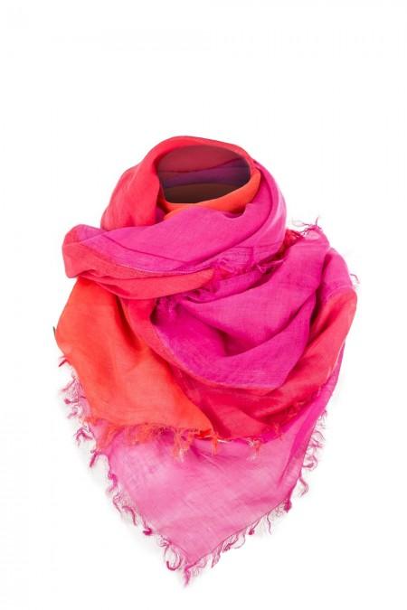 Rundholz Black Label Tuch rot pink