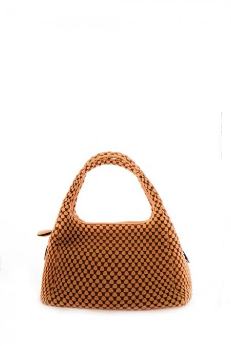 Tissa Fontaneda Shopper SIMPLE MATTER ocker
