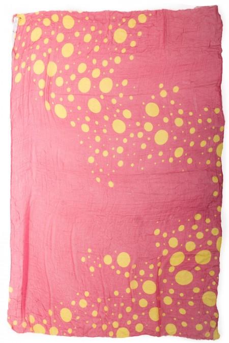 Faliero Sarti Tuch BUBBLE pink gelb