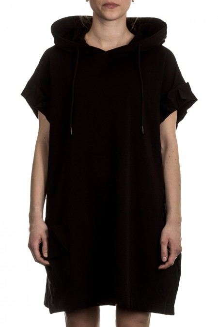 Y-3 Damen Kleid Oversized CRAFT schwarz
