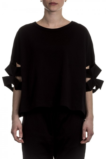 Y-3 Damen Shirt Oversized CRAFT schwarz