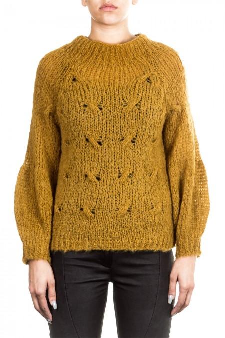 ONE ON ONE Damen Pullover BEAUTIFUL ocker
