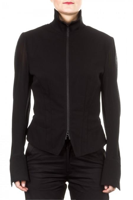 Y-3 Damen Sport Jacke schwarz