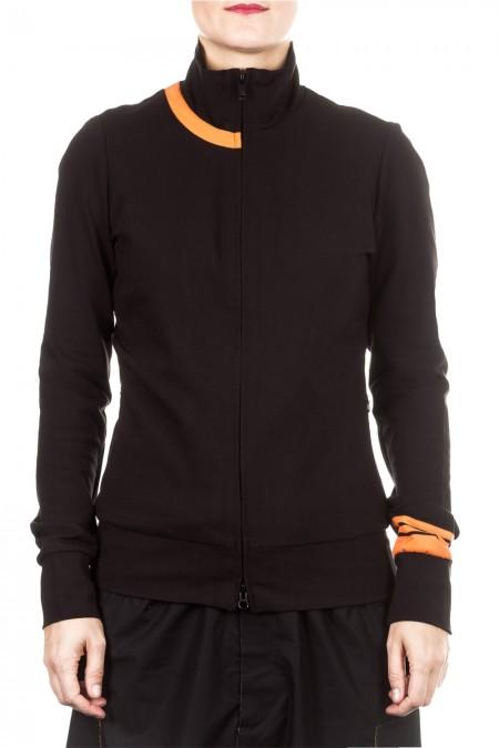 Y-3 Damen Sweat Jacke schwarz