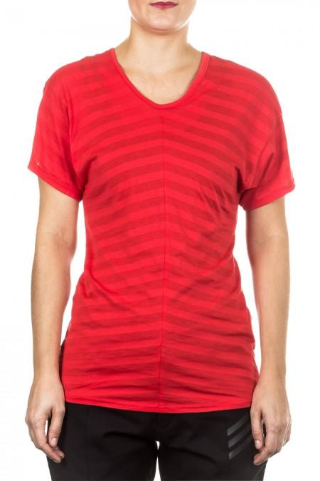 Y-3 Damen T-Shirt rot