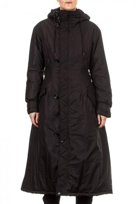 Y-3 Damen Wintermantel LITETAFT COAT schwarz