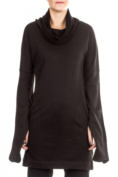 Y-3 Damen Sweat Kleid schwarz