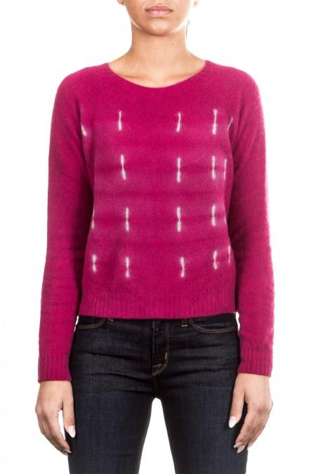 Suzusan Damen Kaschmir Pullover pink