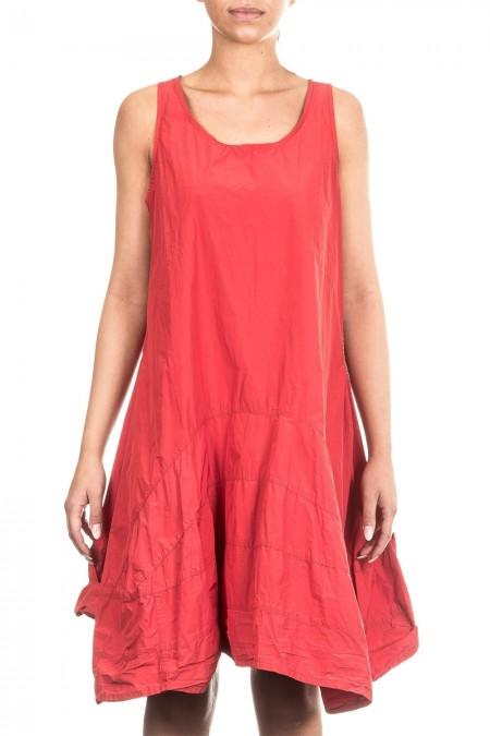 Rundholz Black Label Damen Kleid Avantgarde Oversized rot